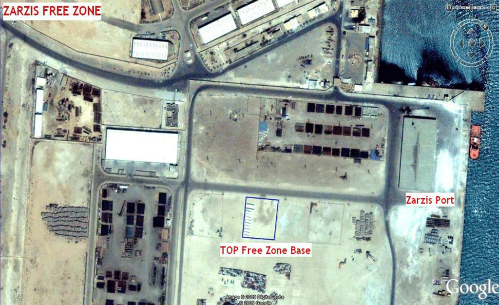 Zarzis Base Facilities